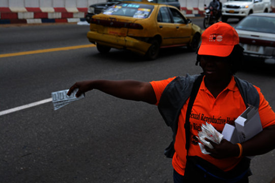 UNFPA has launched a condom campaign after Ebola