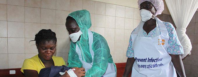 Make Motherhood Safe in Ebola-affected Countries