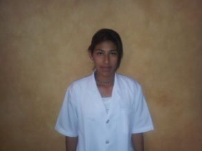 Vania who has advanced to working on real patients