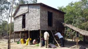 Farm homestead in Prey Veng