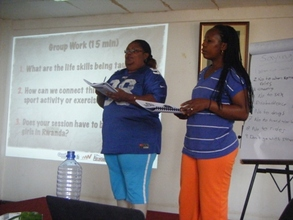 AKWOS Women Coaches learned new strategies to use