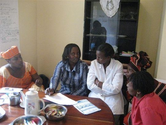 Felicite and coaches strategic plan meeting