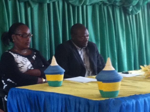 The local governor with AKWOS Representative
