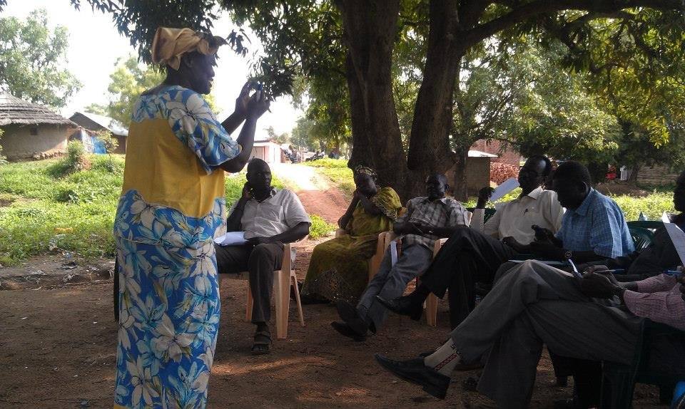 Support Training for South Sudanese Social Workers