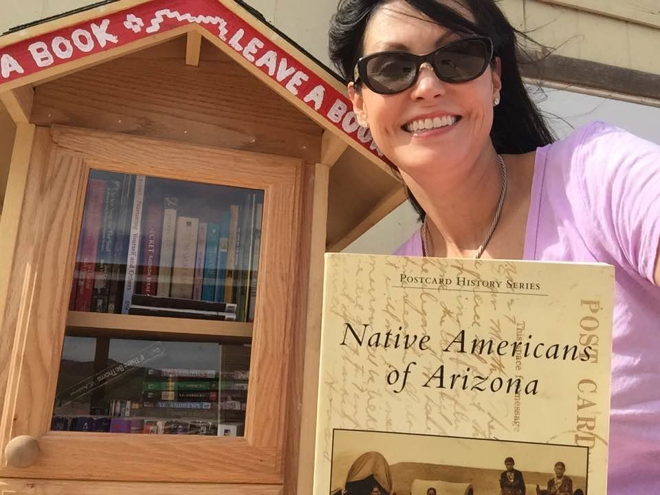 """Our """"Little Library"""" is very popular!"""