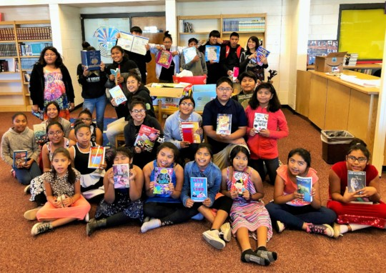 NAAF donated 251 books to San Simon School!
