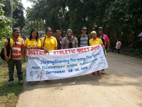 School officials & Elementary principals march