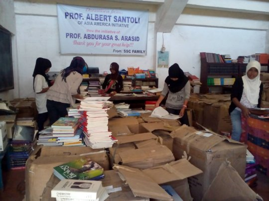5,000 new school books sent by AAI since January
