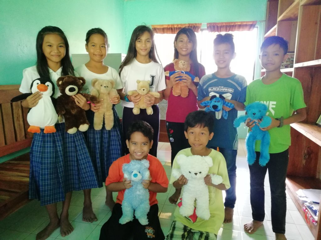 toys for student achievers at Catig Lacadon