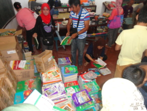 AAI books and school supplies for Sulu schools
