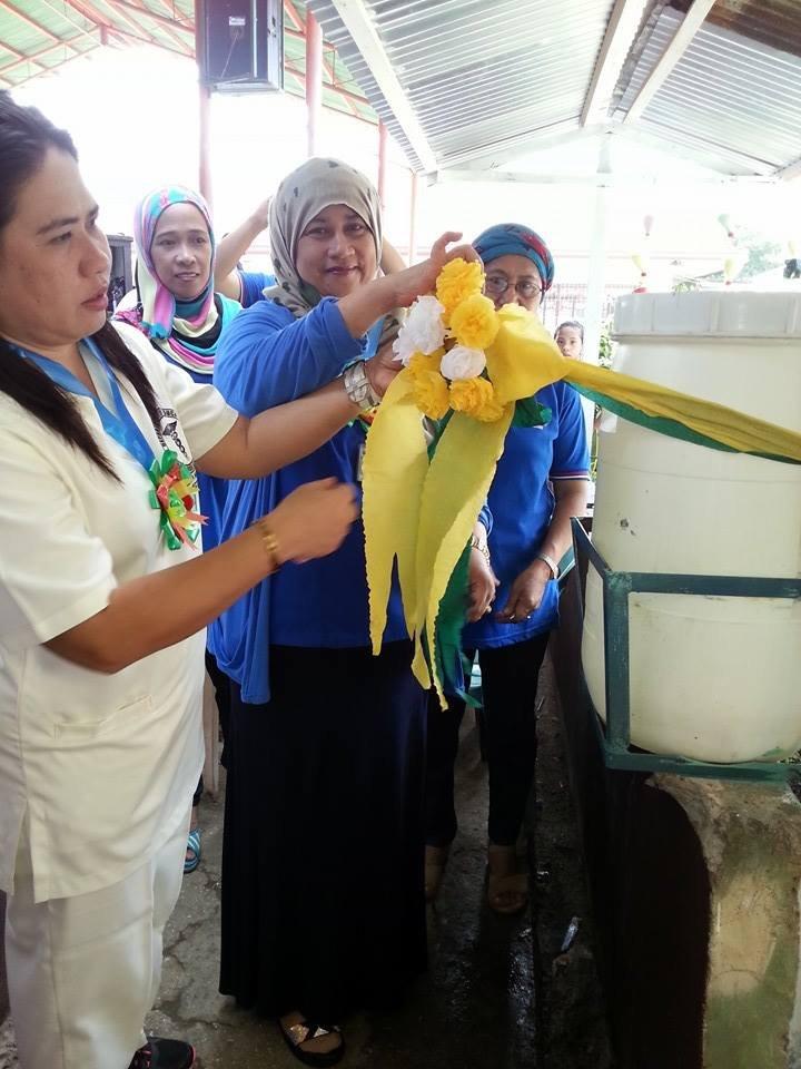 New water tank at Salih Yusah ES nourishes garden