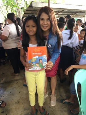 Book donation party by AAi and partners