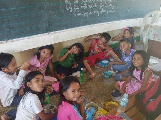 Happy Kids at Maindang Elementary