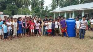 Rainwater Tank at Poblacion ES, Muslim Mindanao
