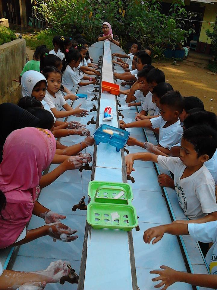 School hygiene with support from AAI and community