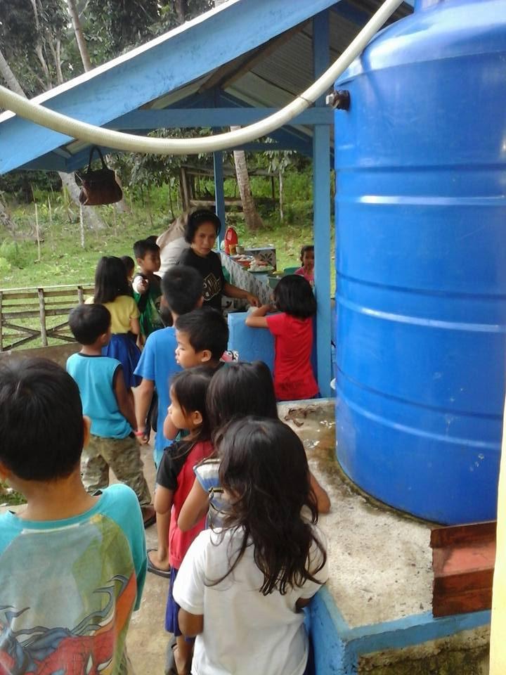 Rainwater Catchment Tank at Mukammali ES