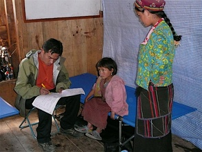 Nepali Child @ Moving Medical Lab