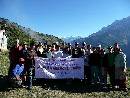 Moving Medical Camp Volunteers