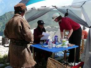 Moving Medical Lab in Nepal