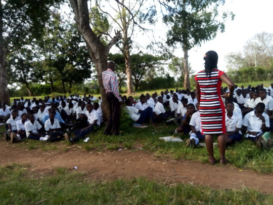 Sensitizing young people on ASRHR