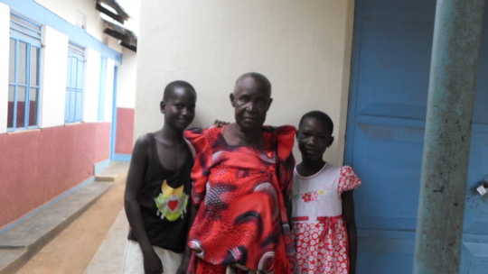ORPHANS AT HOME HOME WITH CARETAKER