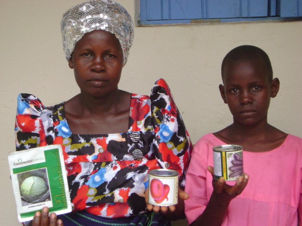 Retain Ophan Girl Children in Schools in Uganda