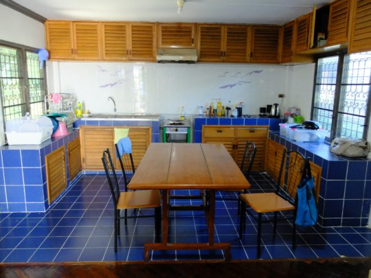 The kitchen will host cooking activities.