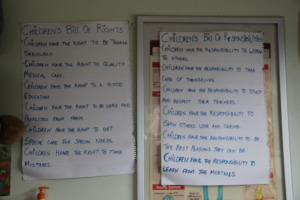 Learning rights and responsibilities
