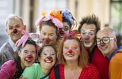 Fund clown performance in children hospital rooms