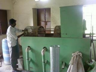 Grading Machine - cleaning and repair