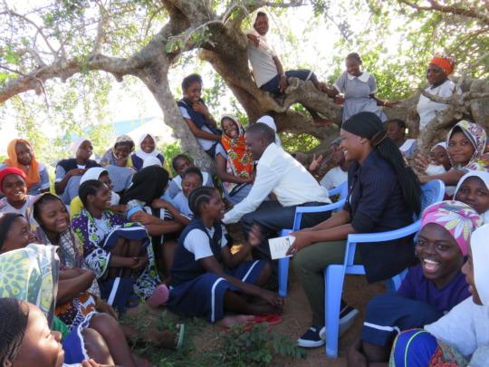 Students are inspired by Kenya Keys' graduates