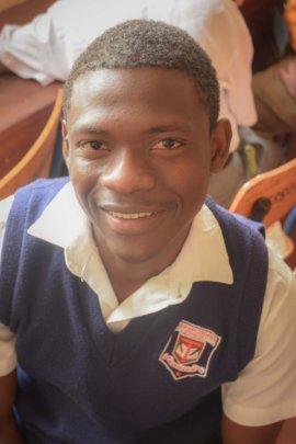 Davicy, as a Form 4 (senior) at Taru Secondary