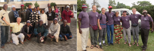 Kenya Keys' teams from Taru & the US, hard at work