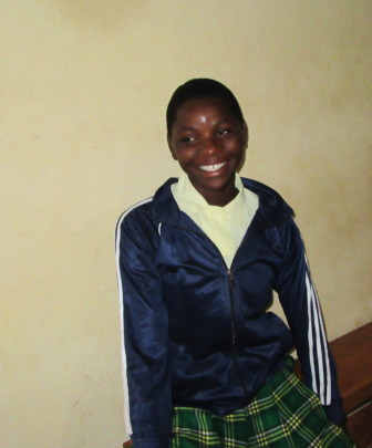 Khadii is so happy to be getting an education!