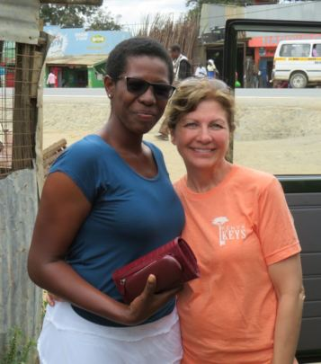 Susan and Susan, our first sponsored staff member