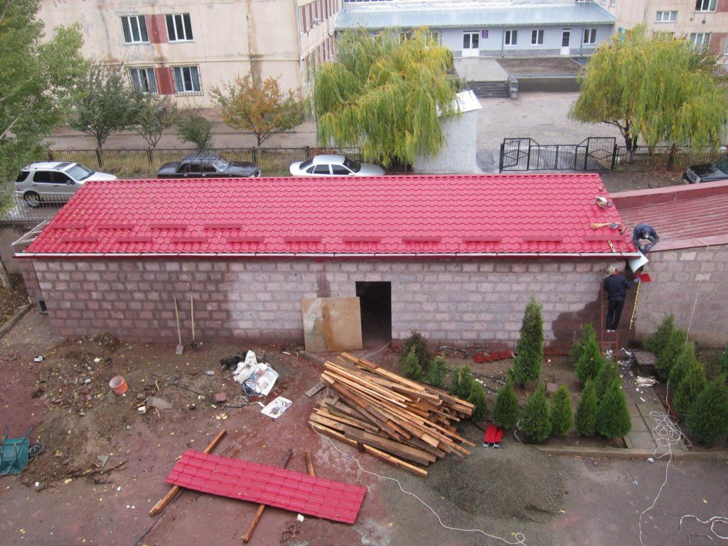 Dental Clinic construction in progress