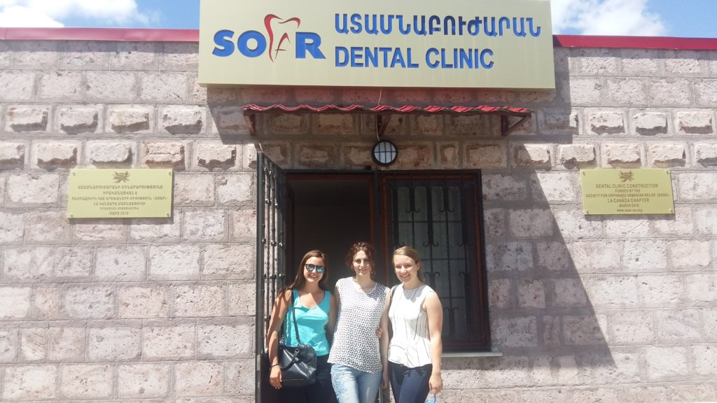 Global Giving Representatives at SOAR OLA Clinic
