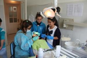 SOAR Dental Care Volunteers at the summer camp