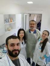 Dr. Sani and Dental School Students