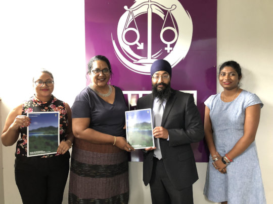 ICAAD with Fiji Women's Rights Movement