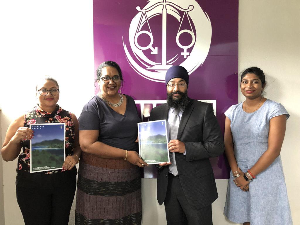 ICAAD with Fiji Women