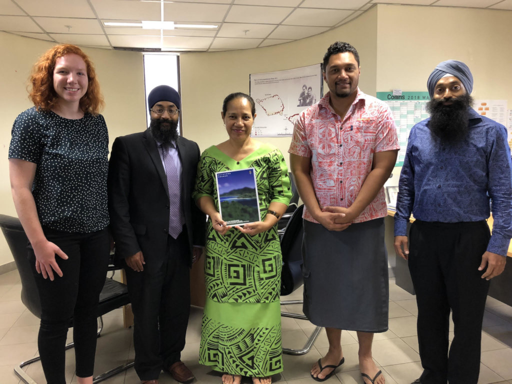 Law Reform Commission of Samoa with the ICAAD Team