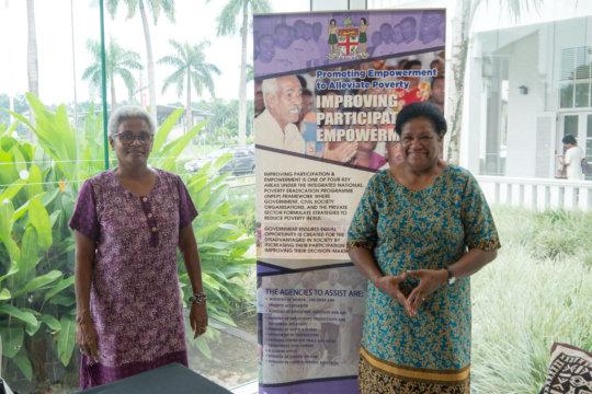 Fiji Ministry of Social Welfare, Women & Poverty