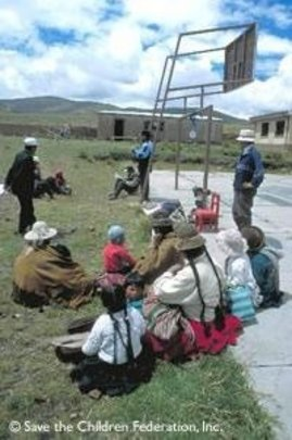 Helping Children Survive to 5 in Bolivia