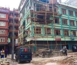 Construction in Kathmandu