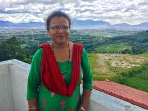 Devaka leads a thriving women's center in Nepal.