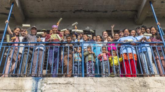 Photo by International Disaster Volunteers