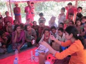 ECCA providing clean water to survivors
