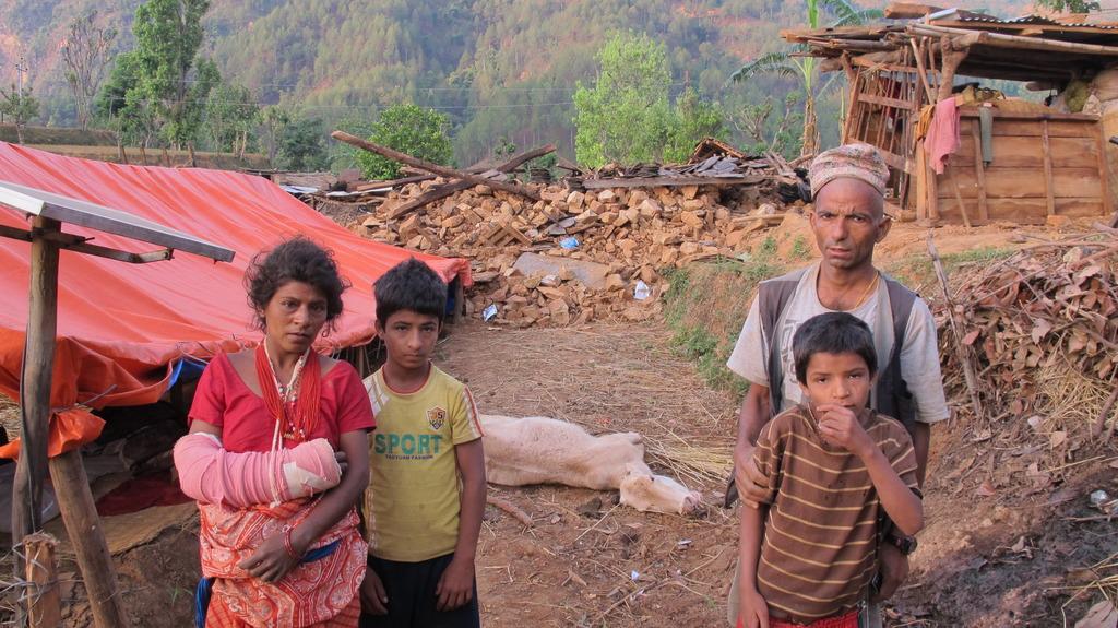 Your gift is reaching moms like Him Kumari (left).