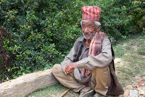 At 90 he has seen 2 major earthquakes, 1934 & 2015